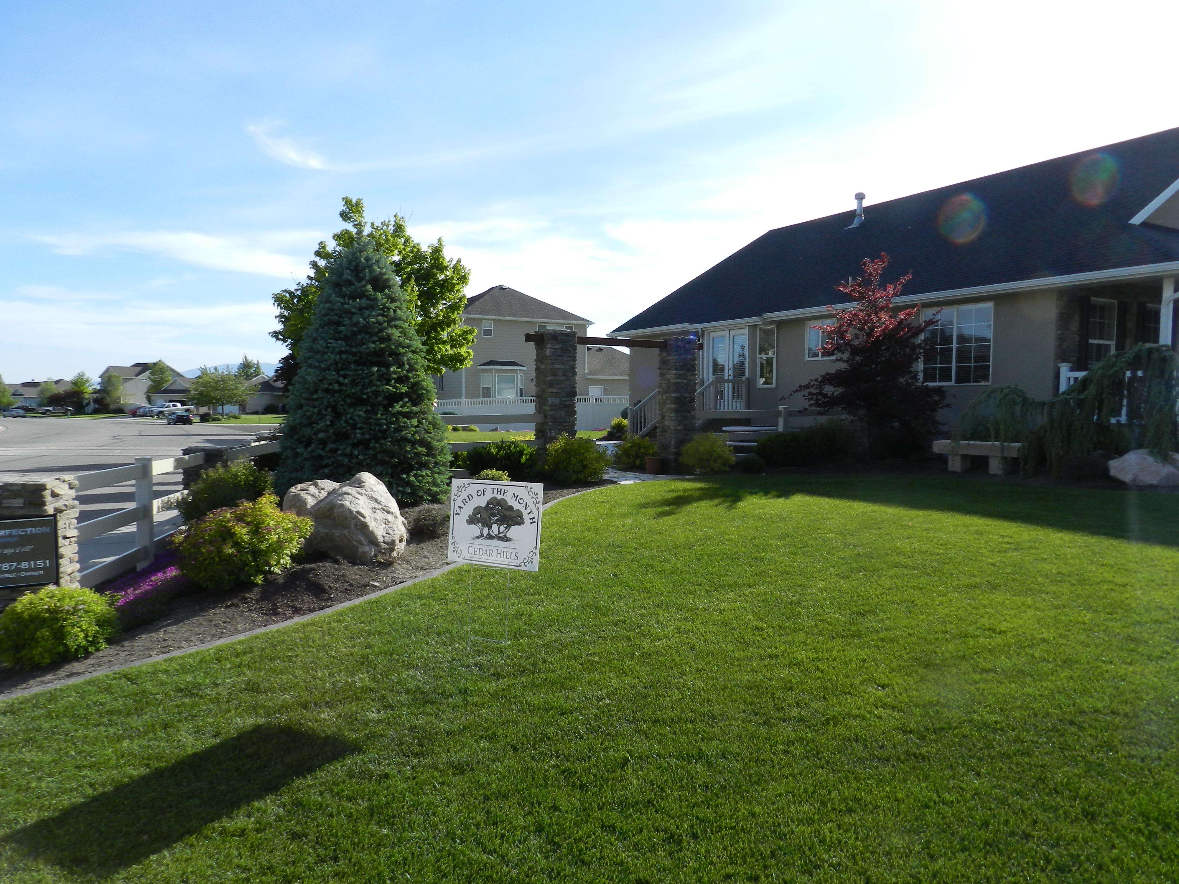 Bybee residence on Fieldcrest Drive
