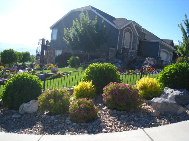 Weber residence on Silver Lake Drive