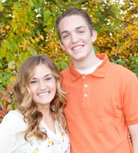 Clayton Hinds and Miranda Swenson are working together to help orphans in Peru