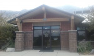 Cedar Hills Main Office Entrance