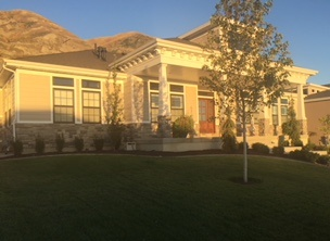 The Baum residence, 10050 N Lakeshore Drive
