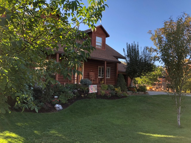 The Hartle residence, 9891 N Meadow Drive